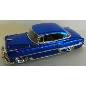 Big Time Kustoms 1953 Chevy Bel Air in Color Blue Toys & Games