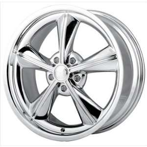 Alloy Ion Style 625 17x9 Chrome Wheel / Rim 5x5 with a 0mm