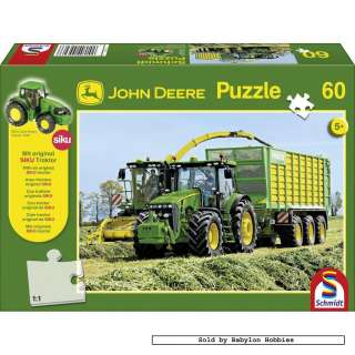 picture of Schmidt 60 pieces jigsaw puzzle John Deere   Tractor 8345R