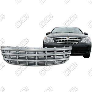 2007 2010 CHRYSLER SEBRING BASE/LX/TOURING CHROME GRILLE INSERT