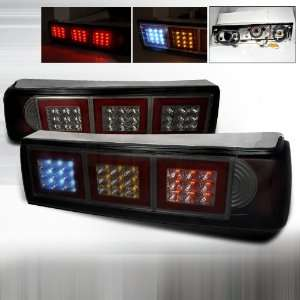 1987 1993 Ford Mustang Led Tail Lights Smoke Automotive
