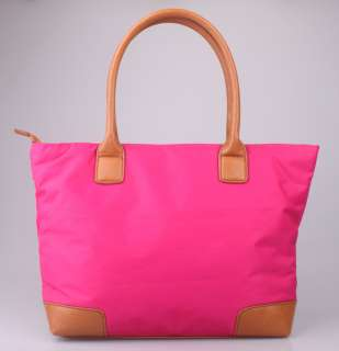 hot classic Tory Burch NYLON pink Tote Bag with dustbag sales