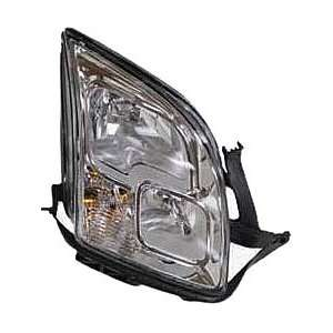 OE Replacement Ford Fusion Passenger Side Headlight Assembly Composite