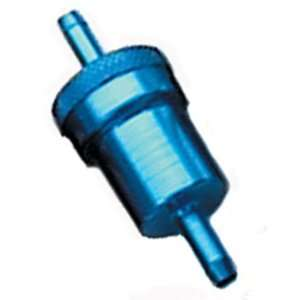 Emgo Anodized Aluminum Fuel Filter   5/16in.   Blue 14
