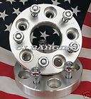 CHEVROLET GMC BUICK OLDSMOBILE PONTIAC WHEEL SPACERS ADAPTERS 5LUG