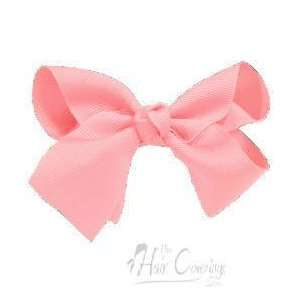 Pink Large Girl Bow Hair Clip