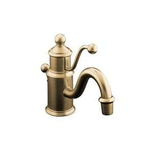 Kohler Antique Single Post Sink Faucet 139 BV Brushed