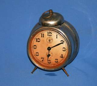 Antique Art Deco German Kienzle Alarm Table Desck Clock