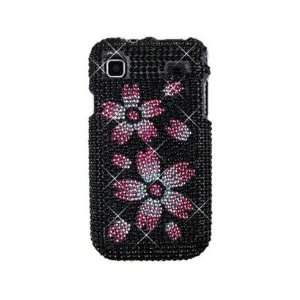 Hard Diamond Phone Protector Cover Case Blossom For Samsung Vibrant