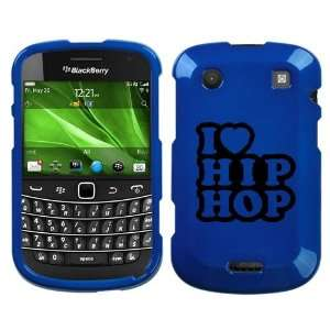 BLACKBERRY BOLD 9930 BLACK I LOVE HIP HOP ON BLUE HARD