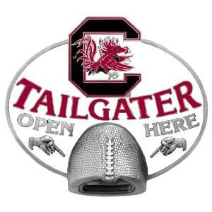 South Carolina Gamecocks Tailgater Bottle Opener Hitch Cover   NCAA
