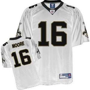Saints NFL Jerseys #16 Lance Moore WHITE Authentic Football Jersey
