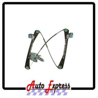 Jaguar S Type Lincoln LS Power Window Regulator w/ Motor Front Left