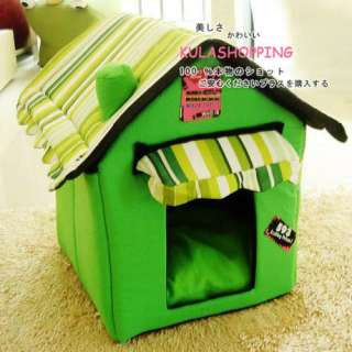 Fashion Pet Dog Cat Pet Tent House/Bed Foldable 2 Colors for Choose