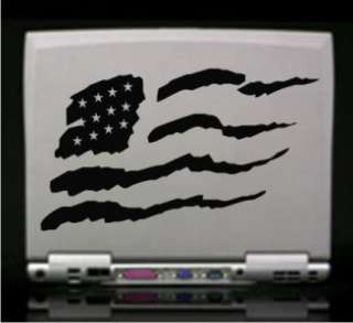 American Flag US Vinyl Decal Sticker 14 Colors