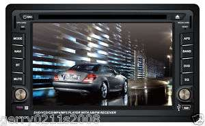 DVD GPS NAVIGATION CAR STEREO TOUCH SCREEN DOUBLE DIN