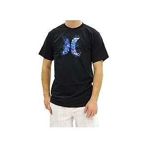 Hurley 4D Icon Tee (Black) XLarge   Shirts 2012  Sports