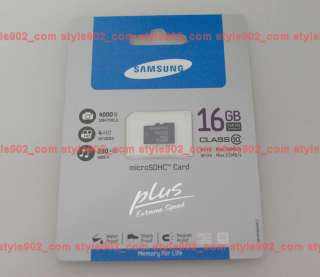 NEW SAMSUNG Micro SD 16GB Class10 Memory Card For Smart Phone Galaxy