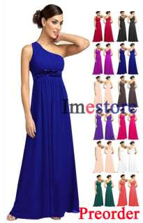 Sexy Beaded Bridesmaid Evening Dress Gown 7111 UK 6 20