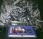 IRON MAIDEN EDDIE´S ARCHIVES BOX WITH TEXTILE FLAG NIKRY NEW 6 CD
