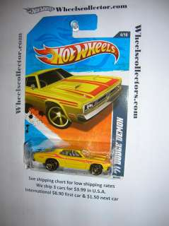 71 DODGE DEMON * 2011 Hot Wheels * Kmart Only YELLOW Color