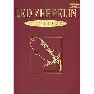 Led Zeppelin    Classics Authentic Guitar Tab, Led