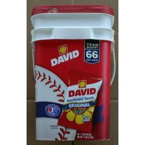 David Original Roasted and All Natural Salted Sunflower Seeds Team