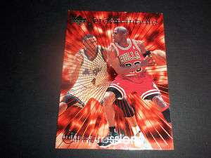 97 Michael Jordan Tribute Chicago Bulls UpperDeck MJ46