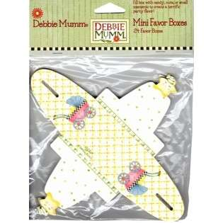 DDI Debbie Mumm 24 Ct Baby Carriage Mini Favor Boxes(Pack of 48) at