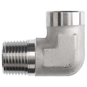 Brennan 5502 02 02 SS Stainless Steel Pipe Fitting, 90 Degree Elbow, 1
