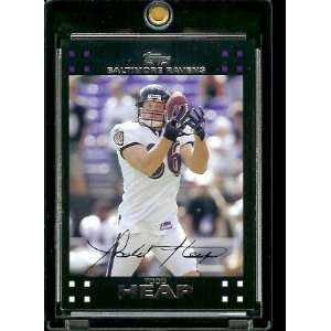 Topps Football # 196 Todd Heap   Baltimore Ravens   NFL Trading Cards