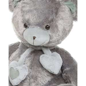 Angel Hugs 36 Silver Grey Soft Plush Love Teddy Bear Toys & Games