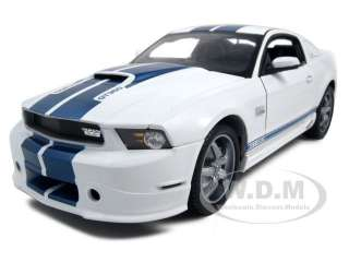 18 scale diecast car model of 2011 ford shelby mustang gt350 white die