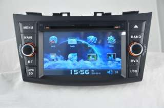 Din Car DVD/GPS Player RDS SUZUKI SWIFT CPU600 RAM 256M