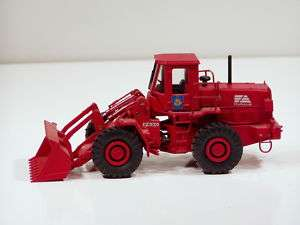 Fiat Allis FR20 Loader   RED 1/50   Old Cars #60201
