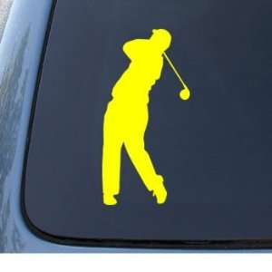 GOLFER   Golfing Sport   Car, Truck, Notebook, Vinyl Decal Sticker