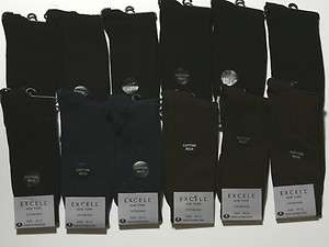 12 Pairs Mens Cotton Assorted Solid Color Dress Socks E788