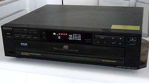 SONY COMPACT DISC PLAYER CDP C211 FOR YOUR HOME STEREO AUDIO SURROUND