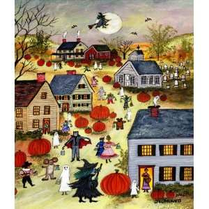 Happy Halloween ~ Wooden Jigsaw Puzzle Toys & Games