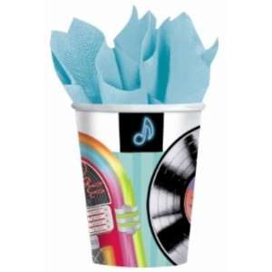 50s Sock Hop 9oz Paper Cups Case Pack 5   525970 Patio