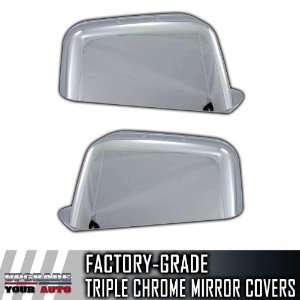 07 10 Ford Edge Full Chrome Mirror Covers Automotive