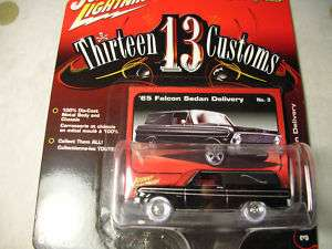 JL White Lightning 65 Ford Falcon Sedan Delivery Hearse