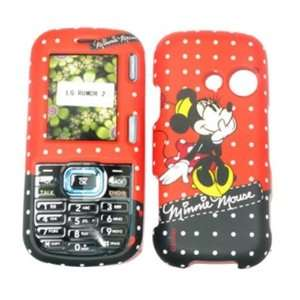 LG Rumor 2 LX265/Cosmos VN250   Minnie Mouse   Red   Disney