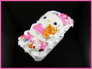 Hello Kitty Cake 3D Hard Case for iPhone 3G 3GS WH WC37