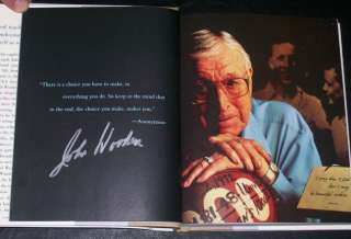JOHN WOODEN*SIGNED*AUTOGRAPHED*BOOK*MY PERSONAL BEST*UCLA*#2