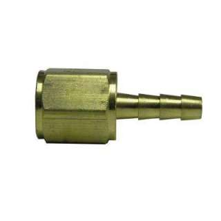 Watts 1/2 in. Brass Barbed Hose Adapter A 390
