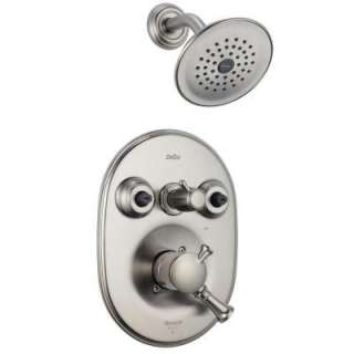 Innovations Single Handle Jetted Shower Trim Kit Only in Stainless