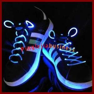 Magical Ultra Bright LED Luminescent Light Up Shoe laces Flash L