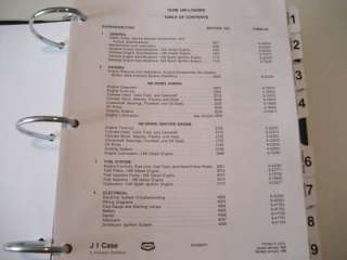Case 1835B Uni Loader Service Manual, Repair Book, NEW