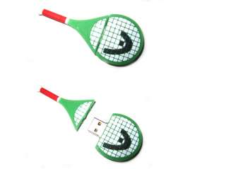 4GB 4G tennis racket USB Flash Memory Stick Pen Drive